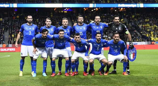 Sport Trivia Question: What is the Italian national football team also known as?
