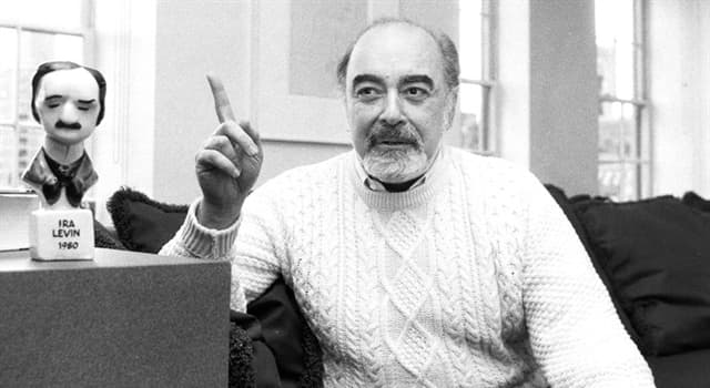 Culture Trivia Question: Which Ira Levin novel is set in a fictional Connecticut town?