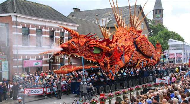 Society Trivia Question: What is the largest volunteer run flower parade in the world?