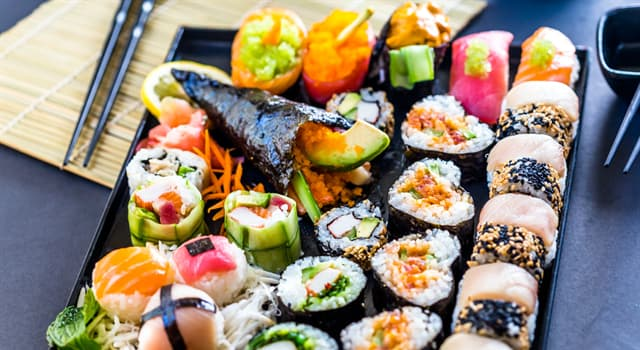 Culture Trivia Question: What name is given to a variety of sushi made with breaded or battered crab?