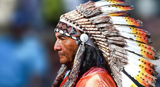 Culture Trivia Question: What name is given to Native American feathered headgear made of eagle feathers?
