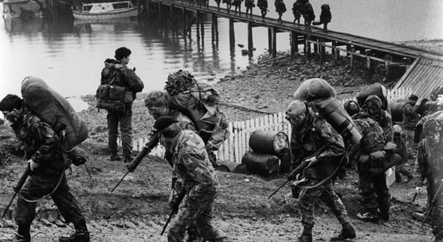 History Trivia Question: What was the name of the operation to recapture South Georgia during the Falklands War?