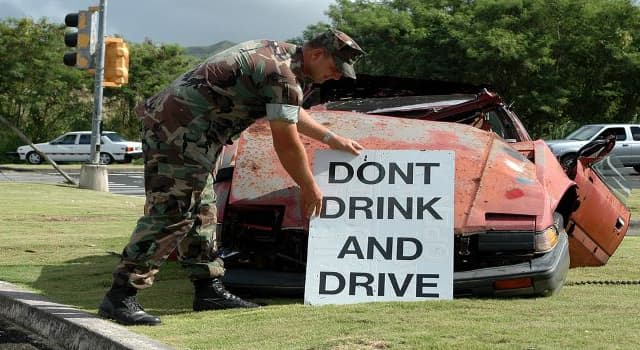 History Trivia Question: Where did the first ever drunk driving arrest and conviction take place?