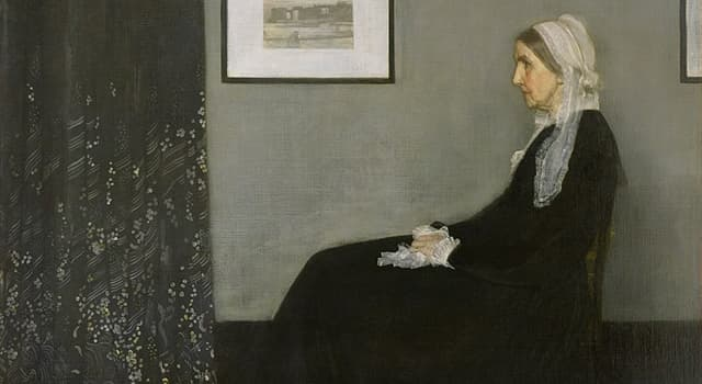 Culture Trivia Question: Which American artist painted a portrait of his mother?