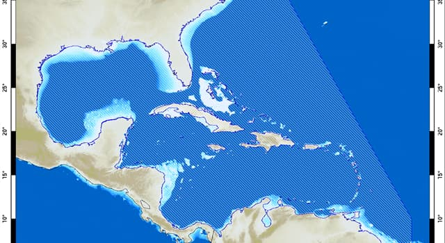 Geography Trivia Question: Which body of water connects the Gulf of Mexico and the Caribbean Sea?