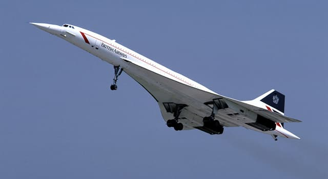 Society Trivia Question: Which company manufactured the engines on the Concorde?