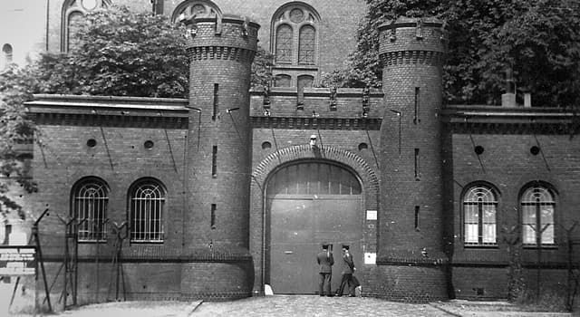 History Trivia Question: Which German prison was demolished in 1987?
