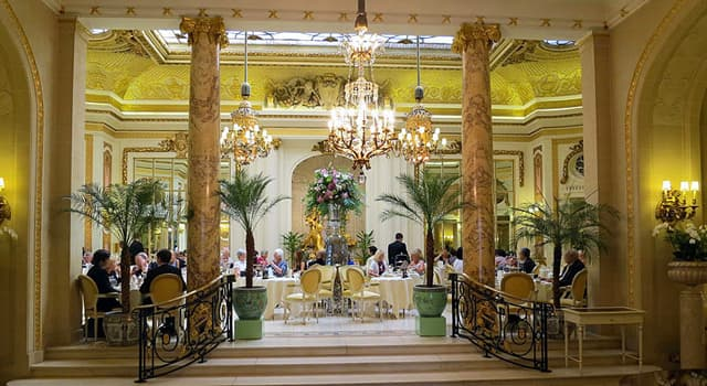 Culture Trivia Question: Which luxury London hotel is famous for its afternoon teas in the Palm Court?