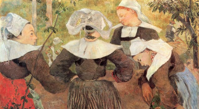 Culture Trivia Question: Which of these artists was post-Impressionist?