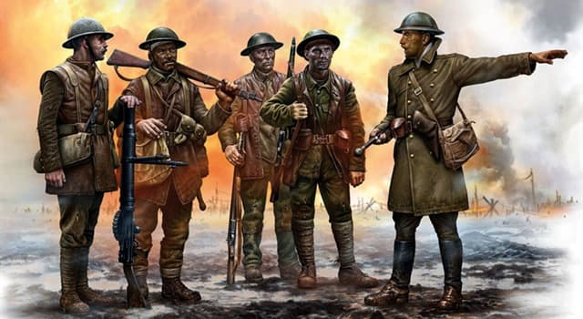 History Trivia Question: Which of these authors fought at the 'Battle of Somme'?