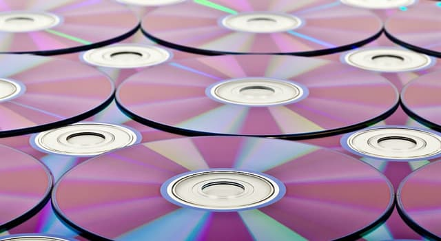 Science Trivia Question: Which of these storage formats is not meant for music?