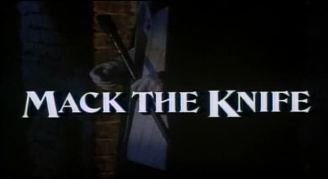 """Culture Trivia Question: Which singer first made the original version of the song """"Mack the Knife"""" internationally popular?"""