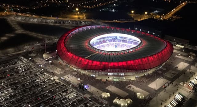 Sport Trivia Question: Which Spanish football club plays their home game at the Metropolitano Stadium?