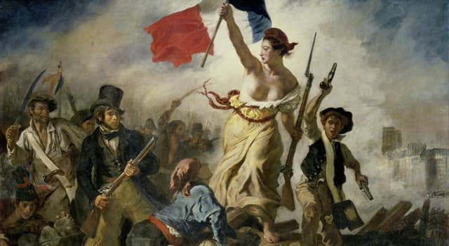 """Culture Trivia Question: Who painted the 1831 work """"Liberty Leading the People""""?"""
