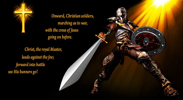 """Culture Trivia Question: Who wrote the tune for the hymn """"Onward, Christian Soldiers""""?"""