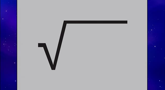 Wissenschaft Wissensfrage: Wie heißt das Symbol für die Quadratwurzel?