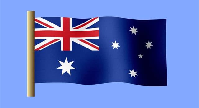 Kultur Wissensfrage: Wie heißt ein großer weißer Stern auf der Flagge Australiens?