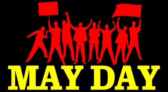historia Pytanie-Ciekawostka: Święto Pracy 1 maja nawiązuje do którego wydarzenia z 1886 roku?