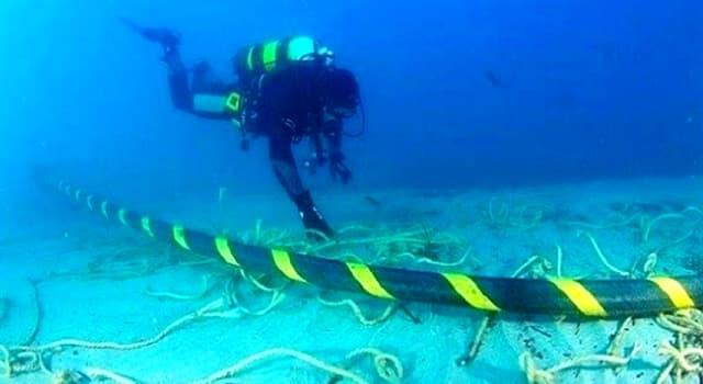 Geschichte Wissensfrage: Wo befindet sich das längste im Meer verlegte Drehstromkabel der Erde?