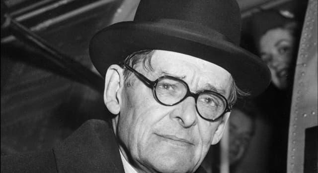Kultur Wissensfrage: Wofür stehen die Buchstaben T. S. im Namen von T. S. Eliot?