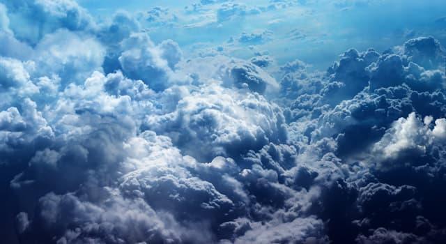 Natur Wissensfrage: Woraus bestehen Wolken?