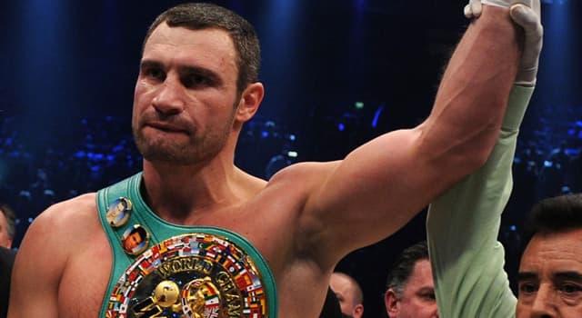 sport Pytanie-Ciekawostka: Z którego kraju pochodzi bokser Witalij Kłyczko?