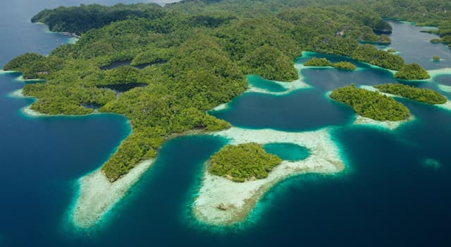 Geografia Pytanie-Ciekawostka: Ze względu na różnorodność ekosystemów, którą wyspę nazywano mikrokontynentem?
