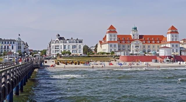 Geographie Wissensfrage: Zu welchem Land gehört die Insel Rügen?