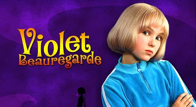 """Kultur Wissensfrage: Zu welcher Frucht wird Violet Beauregarde in Roald Dahls """"Charlie und die Schokoladenfabrik""""?"""