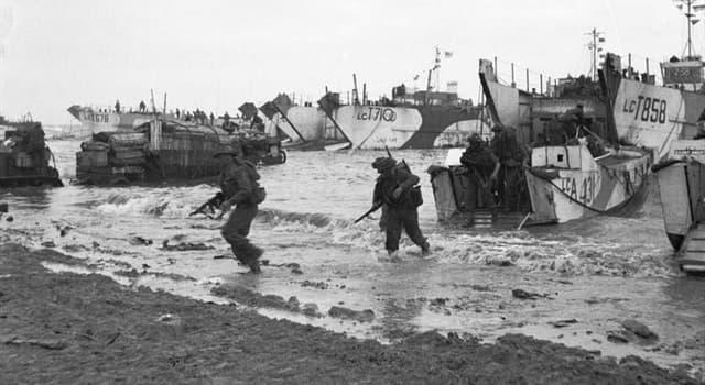 Geschichte Wissensfrage: An welchem der folgenden Tage fand der D-Day statt?