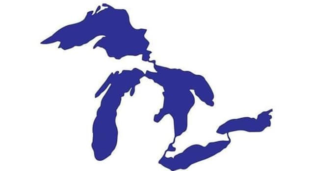 Geography Trivia Question: Approximately how many years ago did the Great Lakes begin to form in the upper east US region?