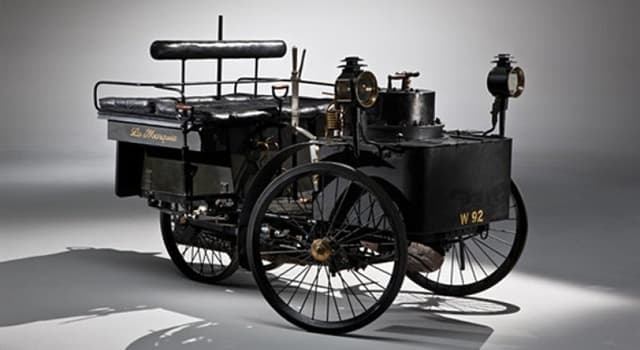 History Trivia Question: The oldest running car was made in which country?