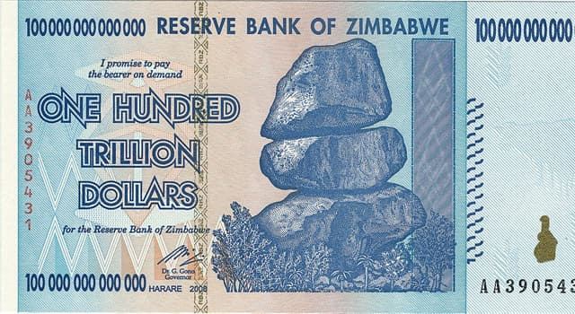 Society Trivia Question: As of 2019, which is the common term for the new monetary unit for Zimbabwe?