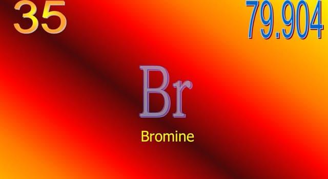 Wissenschaft Wissensfrage: Bei Raumtemperatur befindet sich die Chemikalie Brom in welchem Zustand?