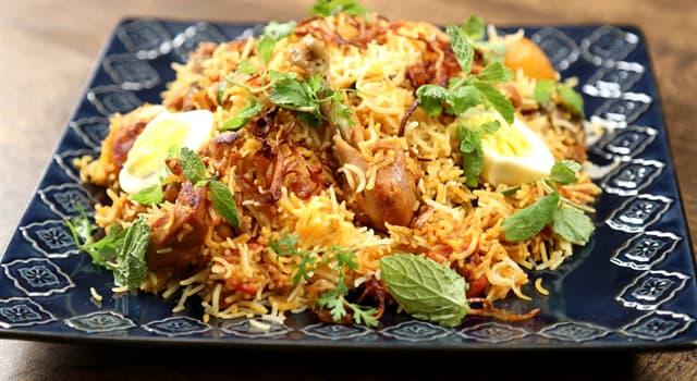 Kultur Wissensfrage: Biryani ist ein traditionelles Gericht welches Landes?