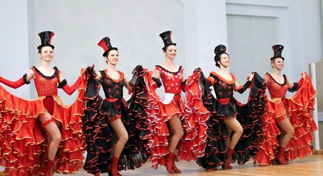 Культура Запитання-цікавинка: Що з перерахованого - енергійний і відвертий французький танець?