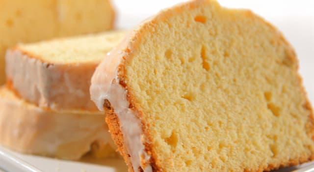 Kultura Pytanie-Ciekawostka: Ciasto Pound (babka piaskowa) ma swoją nazwę od funta mierzącego który ze składników?