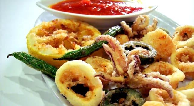 """Kultura Pytanie-Ciekawostka: Co oznacza słowo """"fritto"""" w nazwie włoskiej potrawy """"fritto misto""""?"""