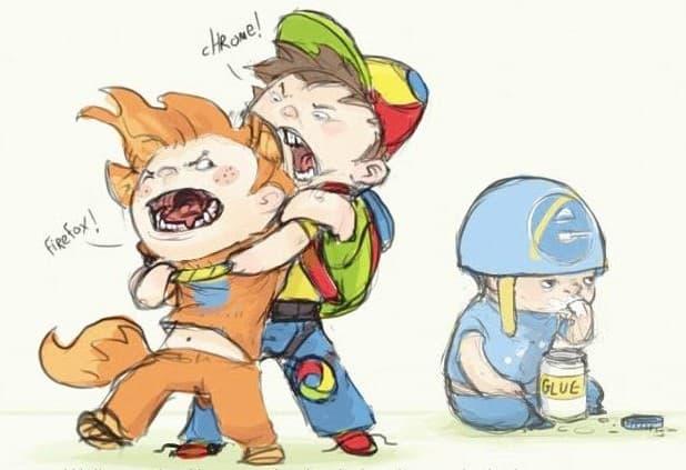 nauka Pytanie-Ciekawostka: Czym są: Firefox, Opera, Chrome, Safari i Explorer?