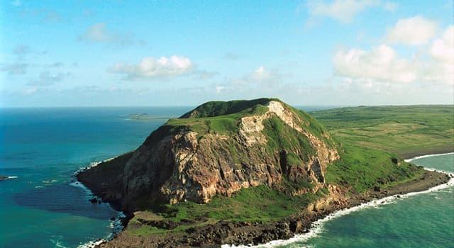 Geographie Wissensfrage: Der Mount Suribachi ist der höchste Punkt welcher Region?