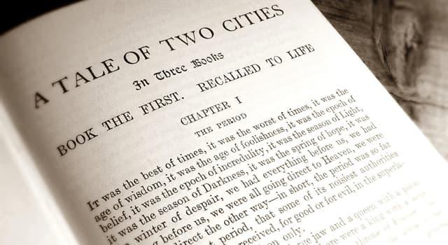 """Kultur Wissensfrage: Die Handlung """"Einer Geschichte aus zwei Städten"""" von Charles Dickens spielt bei welchem Ereignis?"""