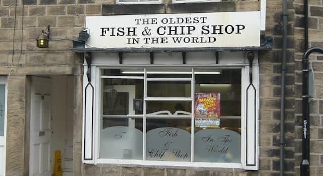 Kultura Pytanie-Ciekawostka: Gdzie znajduje się najstarszy sklep fish&chips na świecie?