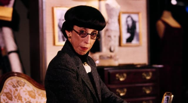 Movies & TV Trivia Question: What is Edith Head's claim to fame?