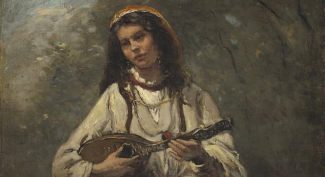 Culture Trivia Question: How many strings does a mandolin commonly have?
