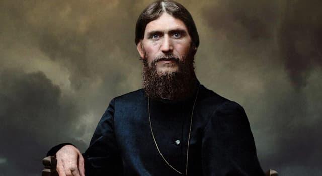 History Trivia Question: How was the Russian mystic Grigori Rasputin murdered?