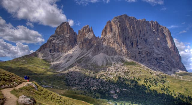 Geography Trivia Question: If you climbed the Dolomites which country would you be in?
