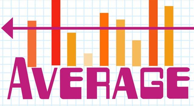 Wissenschaft Wissensfrage: In der Mathematik sind die häufigsten Arten von Mittelwerten Durchschnitt, Modalwert und was?