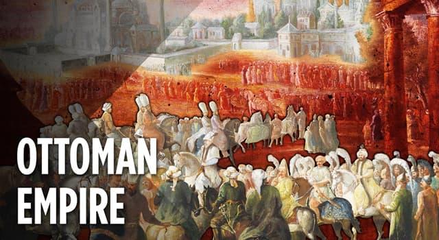 Geschichte Wissensfrage: In über 600 Jahren entstand welches moderne Land aus dem Osmanische Reich?