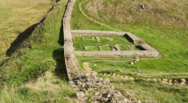Geschichte Wissensfrage: In welchem Land befinden sich noch Teile des Hadrianswalls?