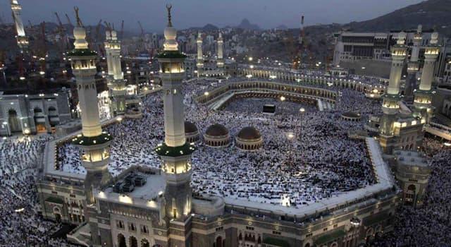 Geographie Wissensfrage: In welchem Land befindet sich Mekka?